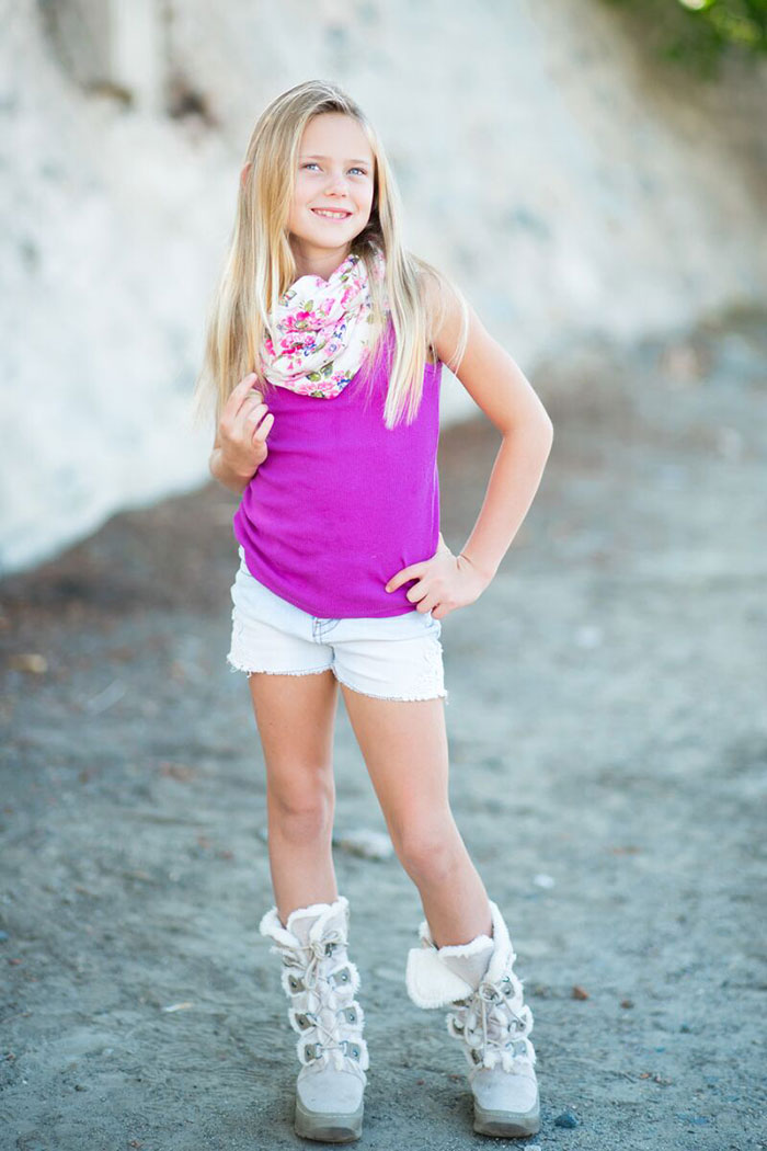 Brand Model And Talent Mallory Kids